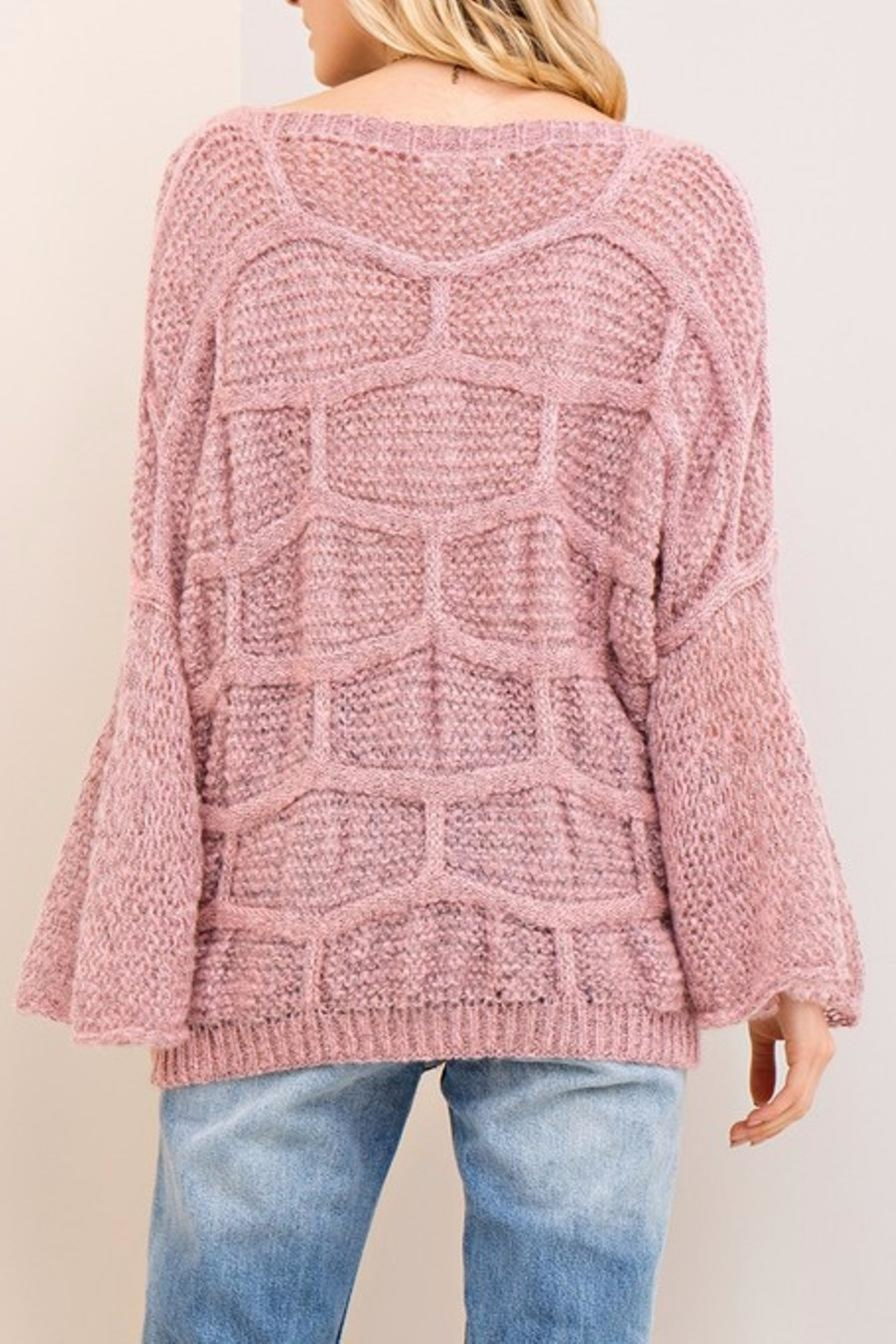 Entro Boat Neck Sweater - Front Full Image