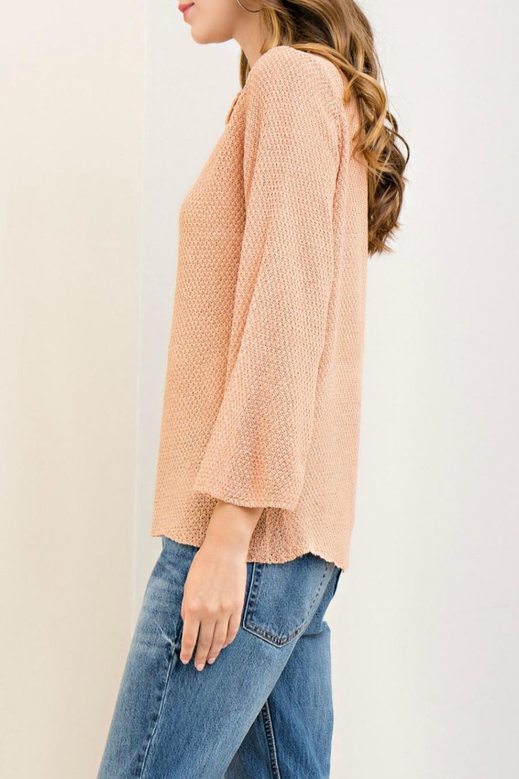 Entro Boat Neck Sweater - Side Cropped Image