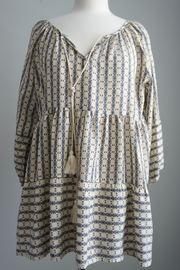 Entro Boho Peasant Tunic - Product Mini Image