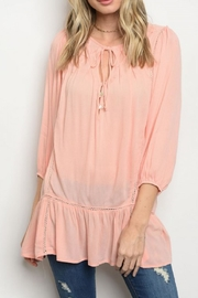 Entro Boho Tunic Top - Product Mini Image