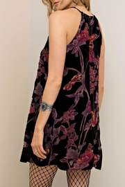 Entro Bold Floral Dress - Front full body