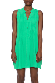 Entro Button Down Dress - Side cropped