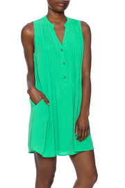 Entro Button Down Dress - Front cropped