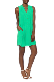 Entro Button Down Dress - Front full body