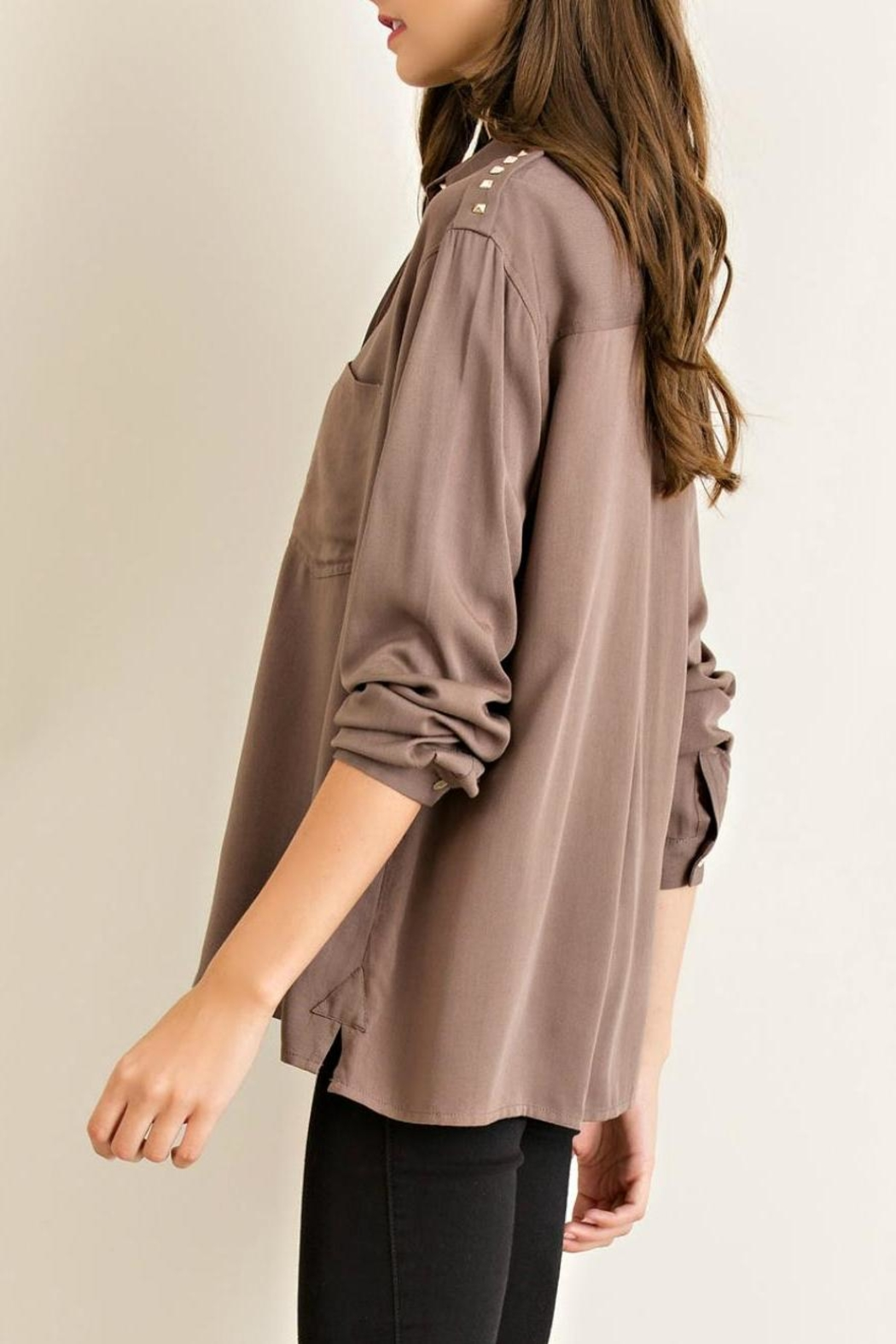 Entro Button Down Shirt - Front Full Image