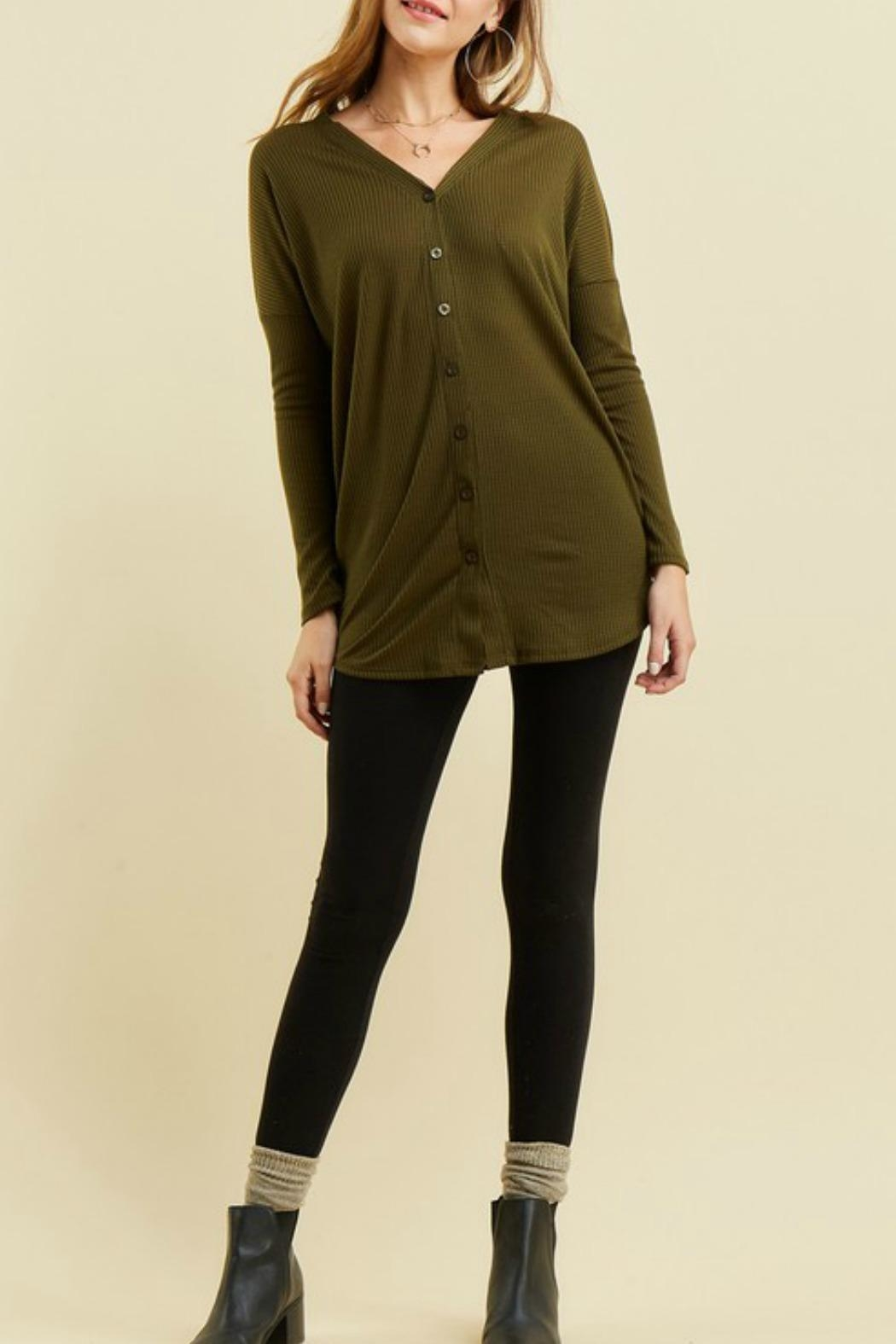 Entro Button Up Thermal - Front Cropped Image