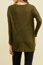 Entro Button Up Thermal - Back cropped