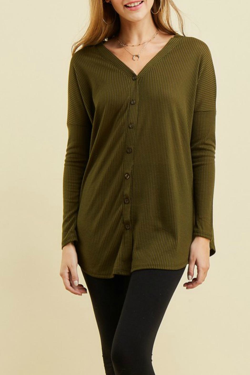 Entro Button Up Thermal - Front Full Image