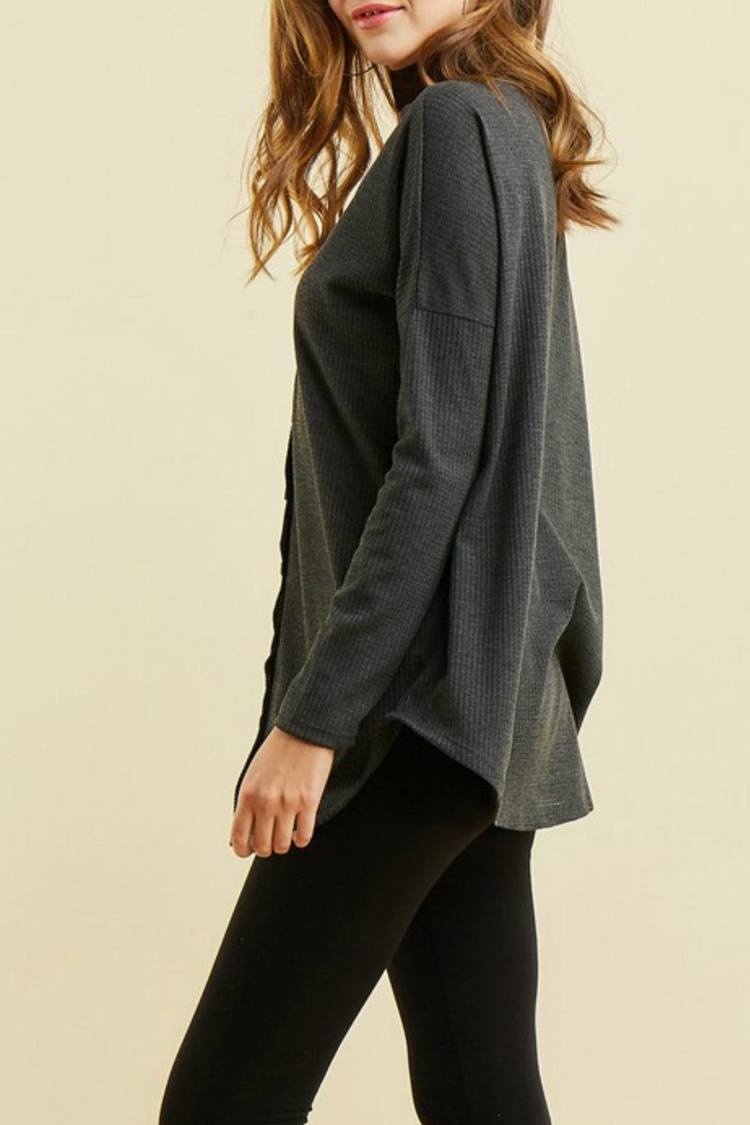 Entro Button Up Thermal - Side Cropped Image