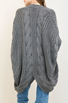 Entro Cable Sweater Cardigan - Product List Image