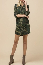 Entro Camo Pocket Dress - Product Mini Image