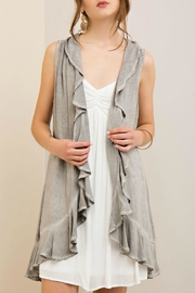 Entro Charcoal Vest - Product Mini Image