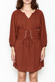 Entro Cinnamon Cinch Dress - Front full body