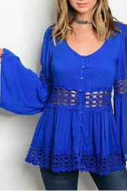 Entro Cobalt Empress Tunic - Product Mini Image
