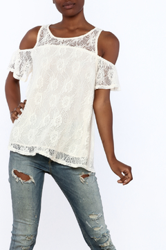 Entro Cream Lace Top - Product List Image