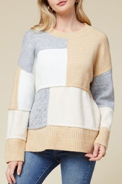 Entro Colorblocked Sweater - Product List Image