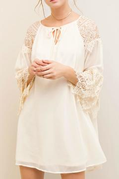 Shoptiques Product: Creme Lace Dress