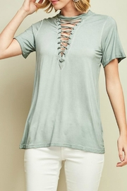 Entro Crew Neck Top - Front cropped