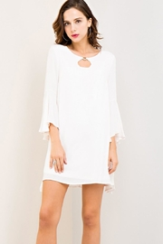 Entro Crinkled Scoop-Neck Dress - Product Mini Image