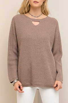 Entro Crisscross Back Sweater - Product List Image