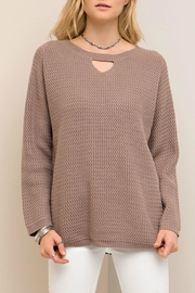 Entro Crisscross Back Sweater - Product Mini Image
