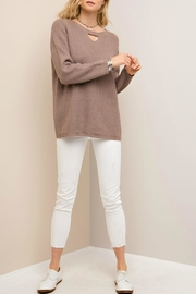 Entro Crisscross Back Sweater - Side cropped