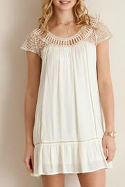 Entro Crochet Baby-Doll Dress - Front cropped