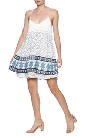 Entro Crochet Babydoll Dress - Front full body