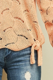 Entro Crochet Knit Top - Other