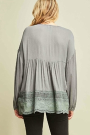 Entro Crochet Top - Back cropped