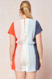 entro  Elongated Romper - Front full body