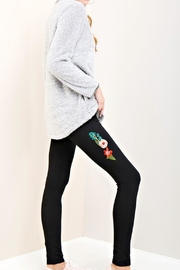 Entro Embroidered Casual Leggings - Product Mini Image
