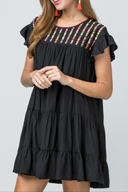 Entro Embroidered Dress - Product Mini Image
