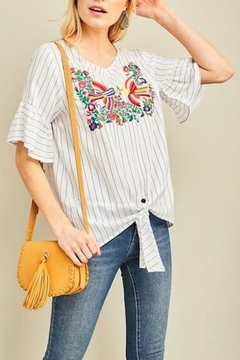 Entro Embroidered Top - Product List Image