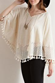 Entro Fall Poncho Top - Product Mini Image