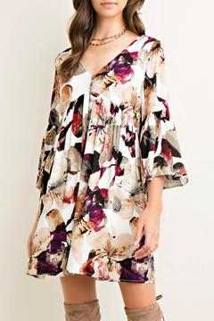 Shoptiques Product: Floral Babydoll Dress
