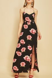 Entro Floral Backless Maxi - Product Mini Image