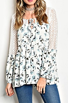 Shoptiques Product: Floral Boho Top