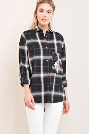 Entro Floral Button Down - Front cropped