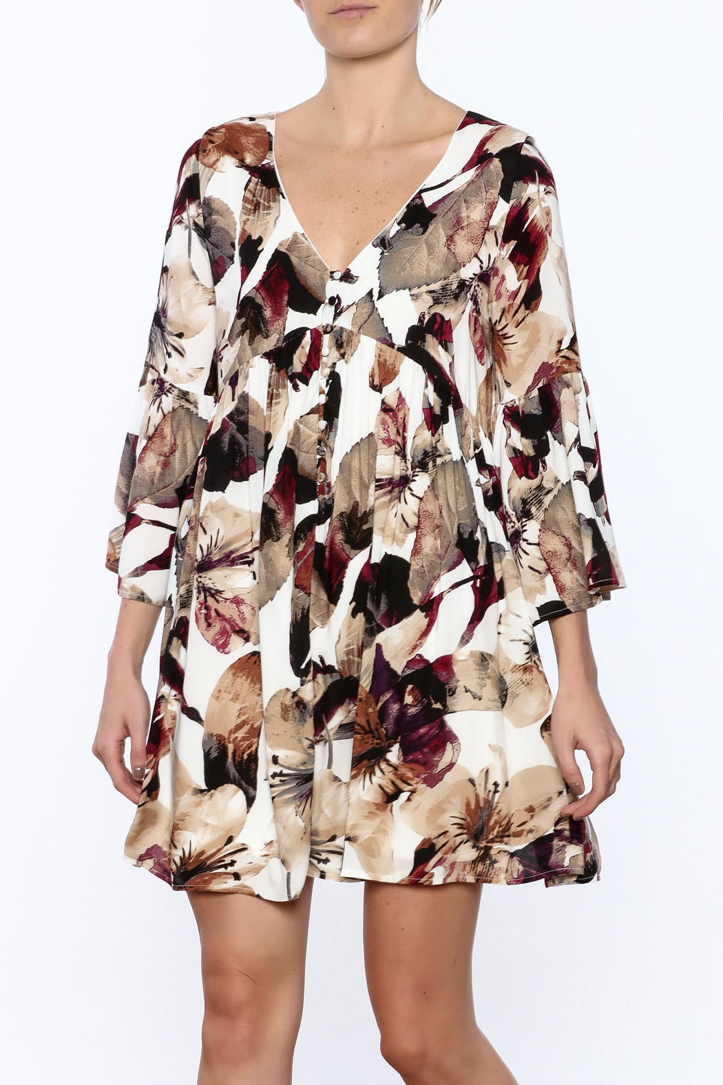 Entro Floral Dress - Main Image