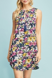 Entro Floral Dress - Front full body