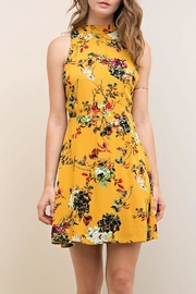 Entro Floral Dress - Product Mini Image
