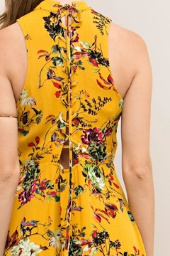 Entro Floral Dress - Alternate List Image