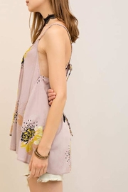Entro Floral Flowy Tank - Side cropped
