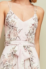Entro Floral Open-Back Jumpsuit - Other