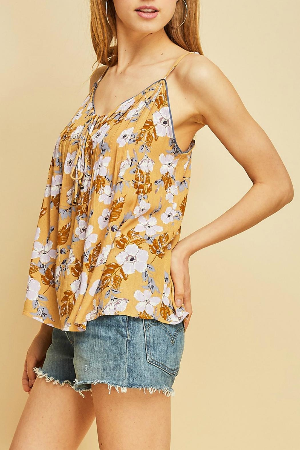 Entro Floral Print Cami - Front Full Image