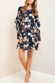 Entro Floral Print Dress - Product Mini Image