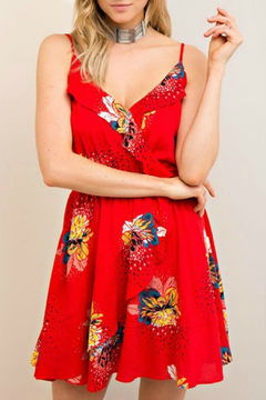 Entro Floral Print Dress - Product List Image