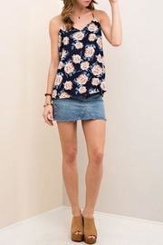 Entro Floral Print Halter Top - Other