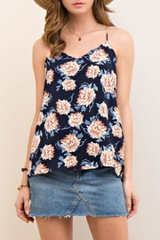 Entro Floral Print Halter Top - Product Mini Image